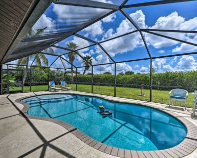 NEW! Coconut Palms Home: Private South-Facing Pool - Pelican