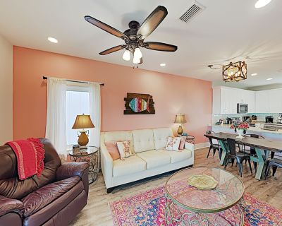 New Listing! Lagoon-Front Townhouse w/ Pool, Dock & Deck - Walk to the Waves - Gulf Shores