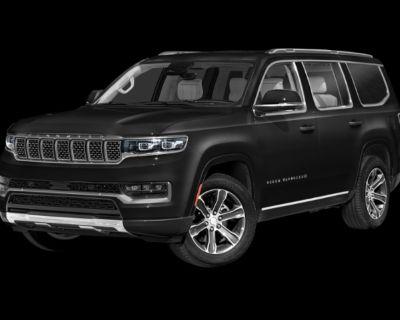 New 2022 Jeep Grand Wagoneer JEEP GRAND WAGONEER SERIES II 4X4 With Navigation & 4WD