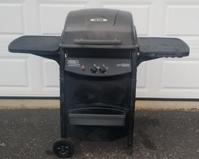 Smaller gas grill