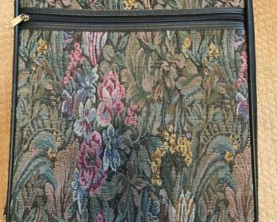 LUGGAGE - REDUCED TO $20 - VINTAGE LEWIS & HYDE FLORAL