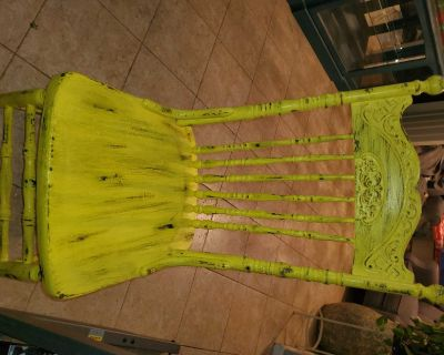 Distressed Antique Chair