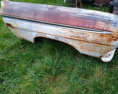 62 1962 Chevy Impala Belair Biscayne front fender