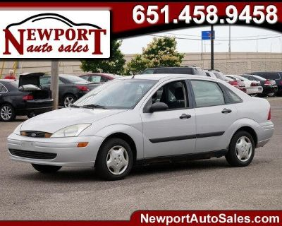 2002 Ford Focus 4dr Sdn LX Base