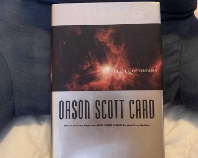 Keeper of Dreams hardcover book by Orson Scott Card