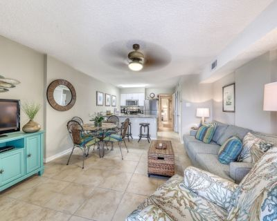 Gulf front condo with community outdoor and indoor pools, hot tub, and sauna! - Gulf Shores
