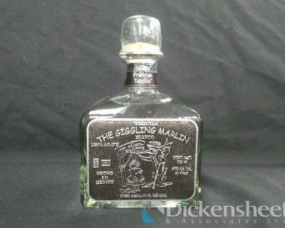 Large Quantity of Giggling Marlin Tequila-Reposado, Blanco, Anejo, Extra Anejo