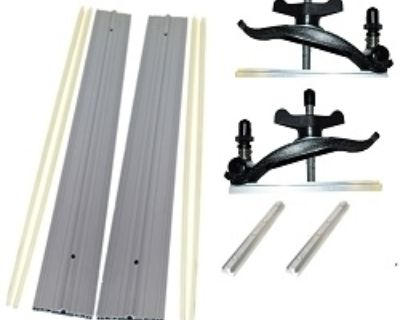 """FS: EZ Smart Track Saw System - adaptable to saws with blades up to 16 1/2""""!"""