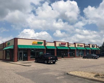 Retail Space for Lease Along Pilot Knob - Prime Visibility - 1,147 SF - 3,076 SF
