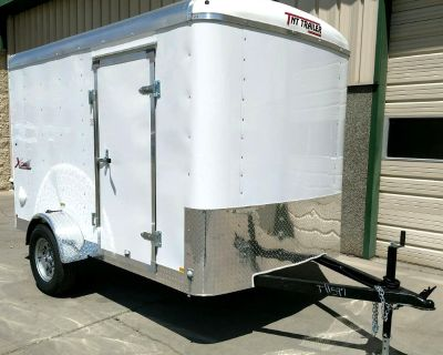2021 TNT XL610SA 6x10 Ramp Door Trailer