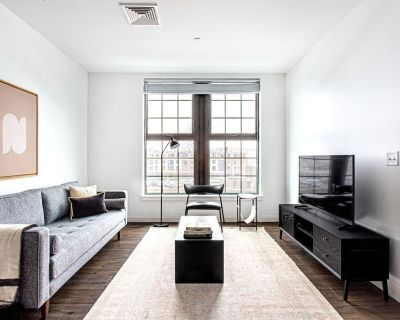 Chic 1BR w/ Gym, W/D, Steps from Newtonville Train by Blueground - Newtonville