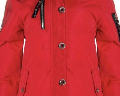 Red winter coat new with tags size med