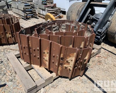 Lot of (2) Track Groups & (4) Idlers - Fits Cat D8N