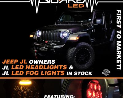 Quake LED plug and play retrofit JL LED Headlight and Fog Lights