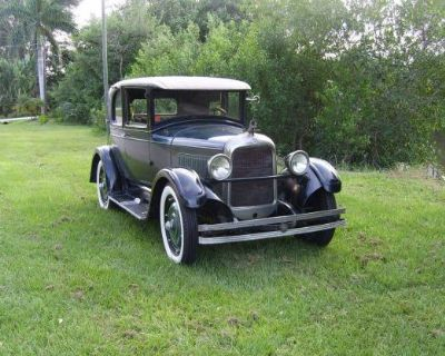 1927 Studebaker Coupe All-Steel Coupe Original Stock