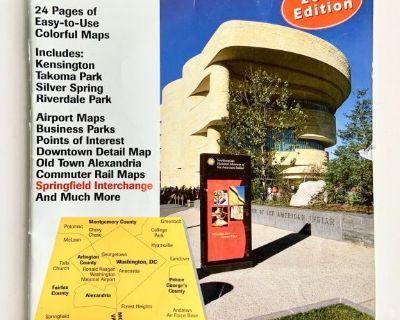 ADC Metro Washington, DC: Street Map Book (37th edition)