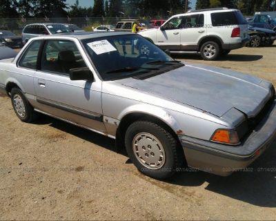 Salvage Silver 1984 Honda Prelude