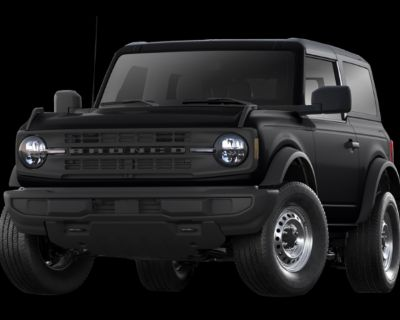 New 2021 Ford Bronco Outer Banks Advanced 4WD Convertible