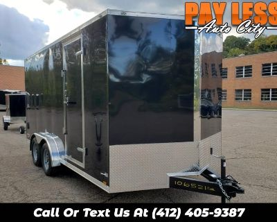Used 2022 Cargo Mate 7.5x16 E Series, 12'' Extra Height, Ramp