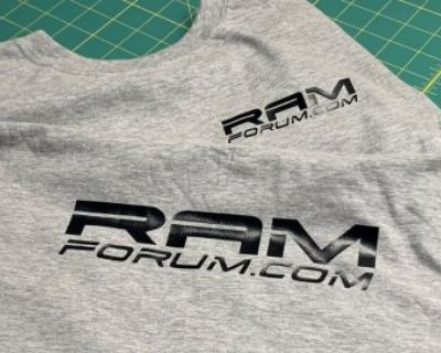 Ram Form T-shirts Now Available
