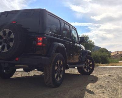 California - Sahara premium wheels with tires & TPMS