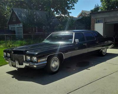 1971 Cadillac Fleetwood Limousine