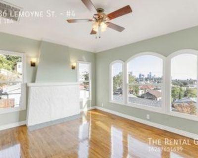 1536 Lemoyne St #4, Los Angeles, CA 90026 1 Bedroom Apartment