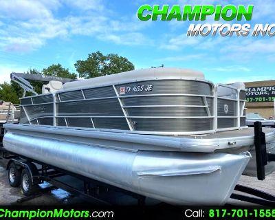 Used 2020 Godfrey Sweetwater SW 2186 Tri-Toon pontoon boat w/Yamaha 150hp 4S