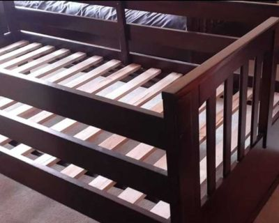 Twin bed frame and mattress!