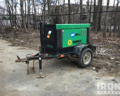2012 (unverified) Miller Big Blue 400 Eco Pro Mobile Engine Driven Welder