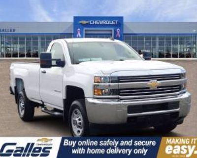 2018 Chevrolet Silverado 2500HD WT Regular Cab Long Box 4WD