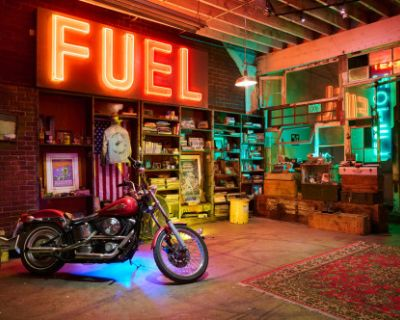 **THE NEON WAREHOUSE**, South Los Angeles, CA