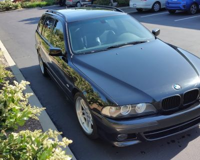 2003 M-sport 540iT6 - yes, you read that right a v8 wagon with a Manual Transmission!