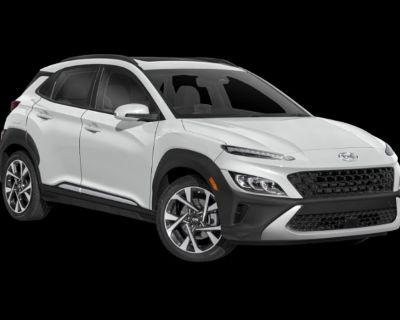 New 2022 Hyundai Kona Limited FWD Sport Utility
