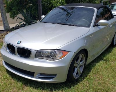 2009 BMW 128ci Convertible Silver   Runs Great $7900