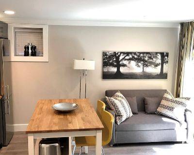 New Basement Private Suite - Fully Furnished, 1 BEDROOM & Futon - Shaughnessy