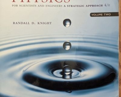 Physics for Scientists and Engineers, 4th Ed., volume 2, by Knight