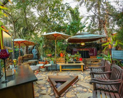 Enchanting Rainforest Event Space In The City, Los Feliz, CA