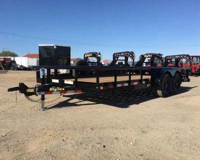 7x12 Tandem Axle Utility Trailer Pro Series,Water Tank Trailer GVWR 9,990 lbs,Big Tex 10PI-12