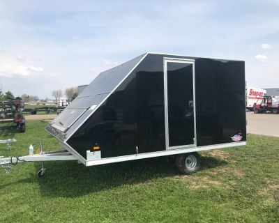 2021 AmeraLite Trailers AMERALITE BLAST 8.5X12 ENCLOSED Snowmobile Trailers Kaukauna, WI