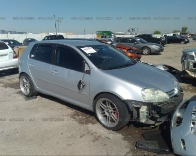 Salvage Silver 2009 Volkswagen Rabbit