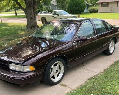 1996 Chevy Impala SS - sells at auction Oct 2