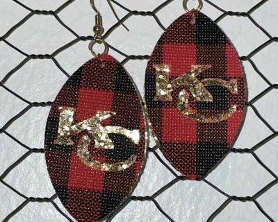 Kc Chiefs Earrings