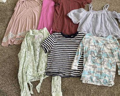 Girls 8-10 & 10-12 shirts