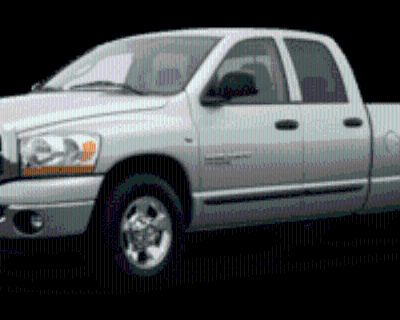 2007 Dodge Ram 2500 SLT Quad Cab Regular Bed 2WD