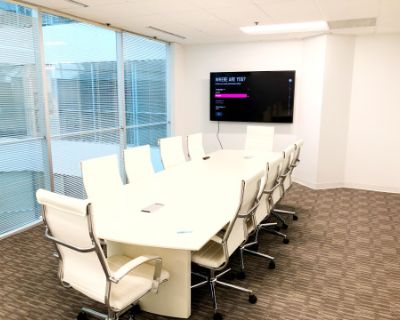 Very Affordable Conference Room, Fairfax, VA
