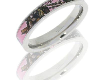 Camo Wedding Rings