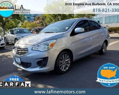 Used 2019 Mitsubishi Mirage G4 ES CVT w/Factory Warranty! Apple Car Play & Androi