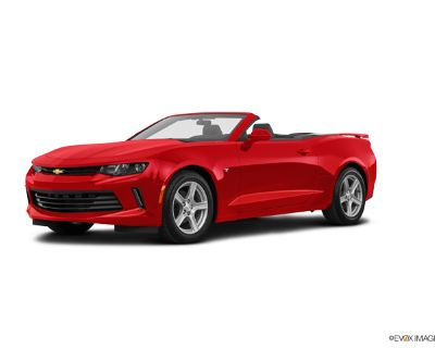 2017 Chevrolet Camaro 1LT with RS Convertible