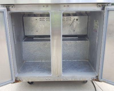"""CONTINENTAL SW60-24M 60"""" Designer Line Undercounter freezer"""